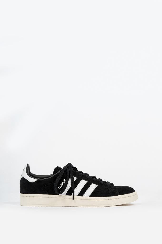 ADIDAS CAMPUS CORE BLACK CLOUD WHITE CHALK WHITE