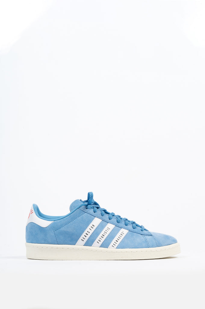 ADIDAS CAMPUS X HUMAN MADE LIGHT BLUE WHITE
