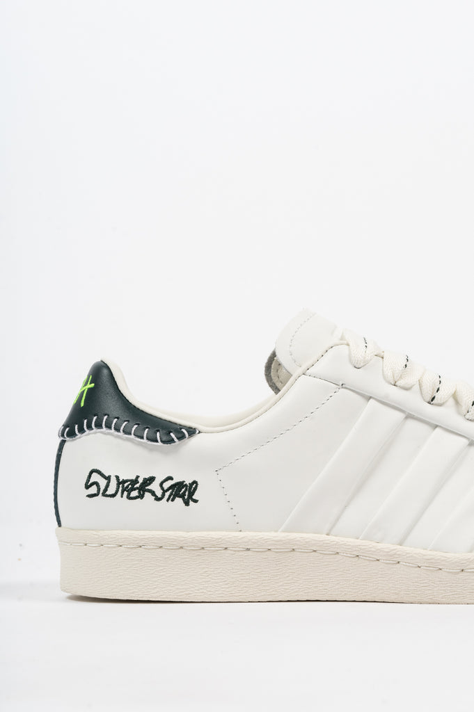 ADIDAS X JONAH HILL SUPERSTAR WHITE GREEN