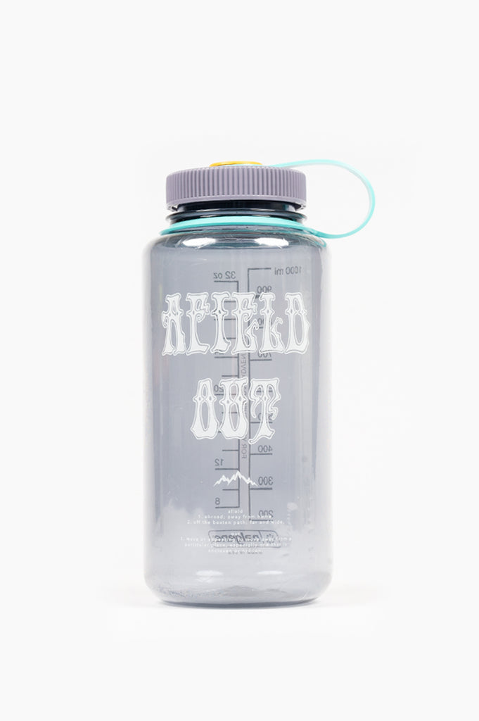 AFIELD OUT 32 OZ NALGENE BOTTLE SMOKE GREY