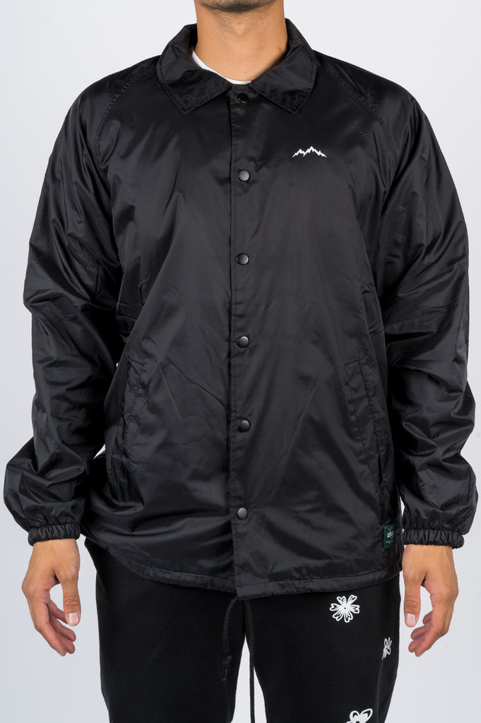 AFIELD OUT LANDSCAPE COACH JACKET BLACK - BLENDS