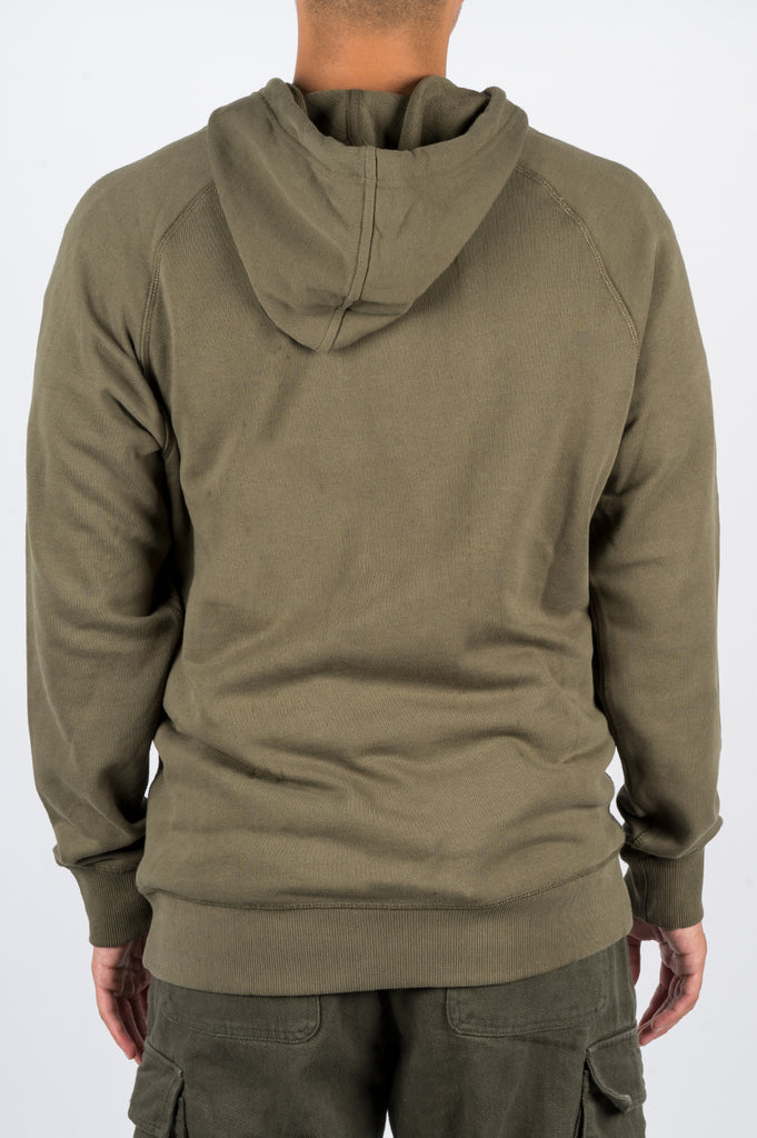 AFIELD OUT ALP HOODIE ARMY GREEN - BLENDS