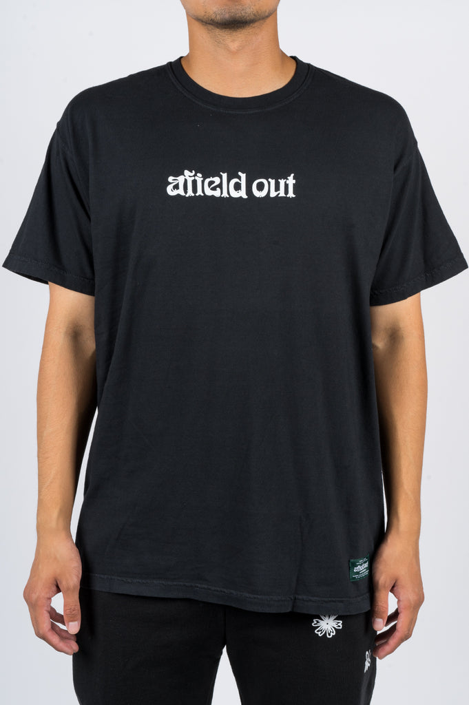 AFIELD OUT LOGO TSHIRT BLACK - BLENDS