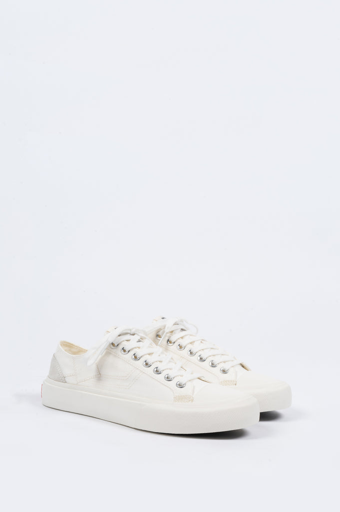 ARTICLE NUMBER 1007 LO TOP VULCANIZED SNEAKER OYSTER - BLENDS
