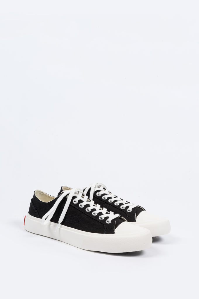 ARTICLE NUMBER 1007 LO TOP VULCANIZED SNEAKER BLACK - BLENDS