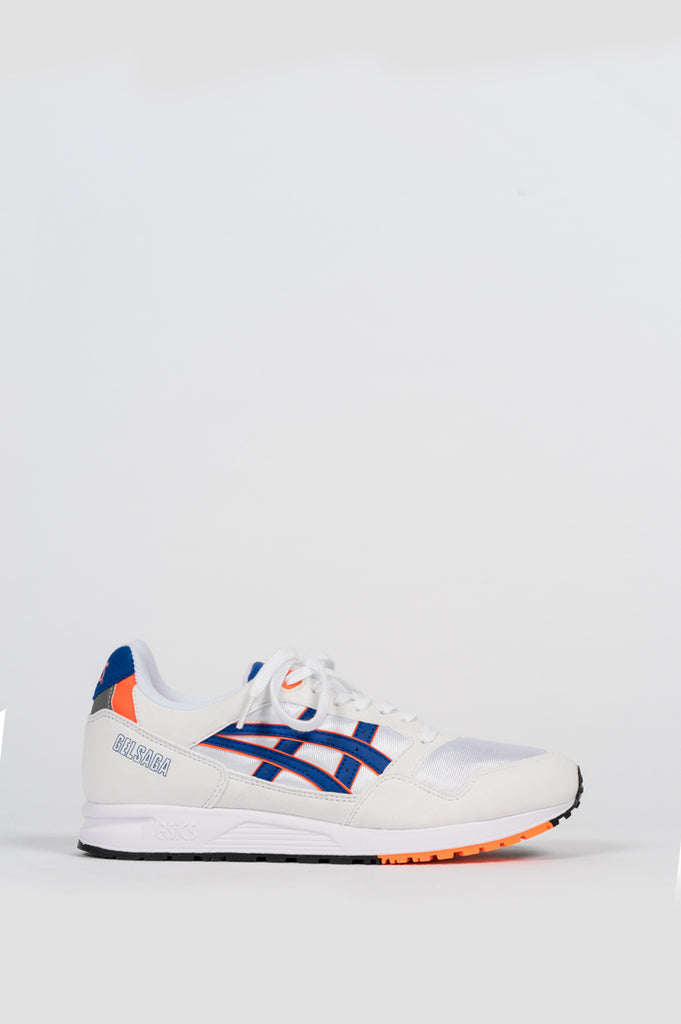 ASICS GEL SAGA WHITE ASICS BLUE - BLENDS