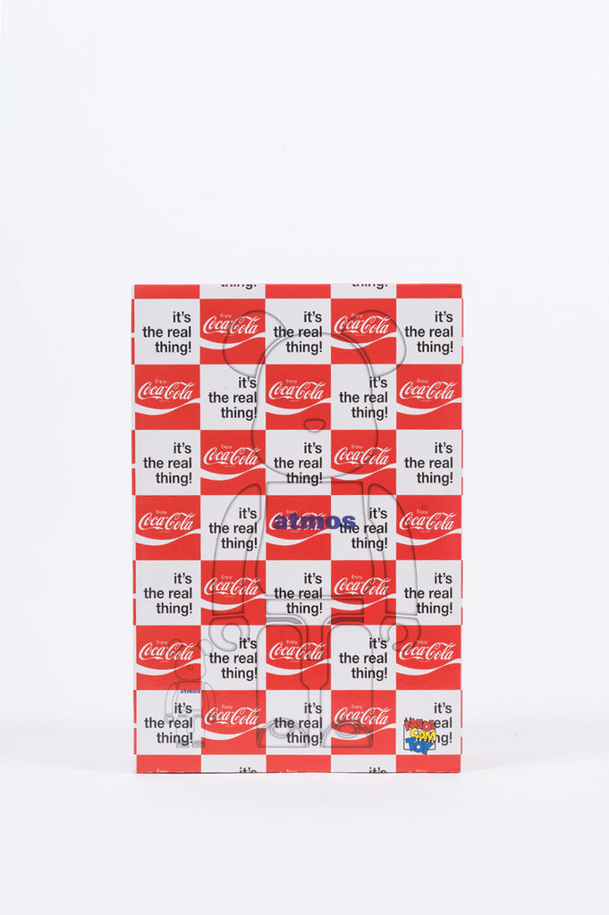 MEDICOM X ATMOS X COCA-COLA CHECKER BEARBRICK - BLENDS