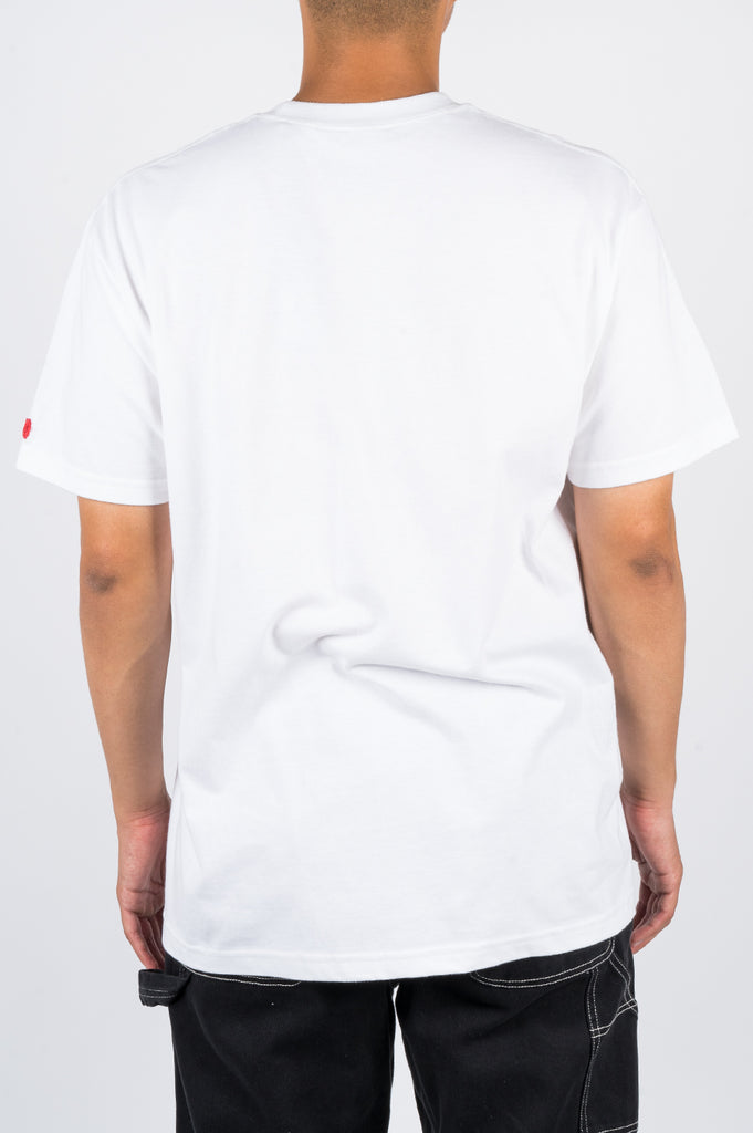 BLENDS BEACH IN MOUTH TSHIRT WHITE - BLENDS
