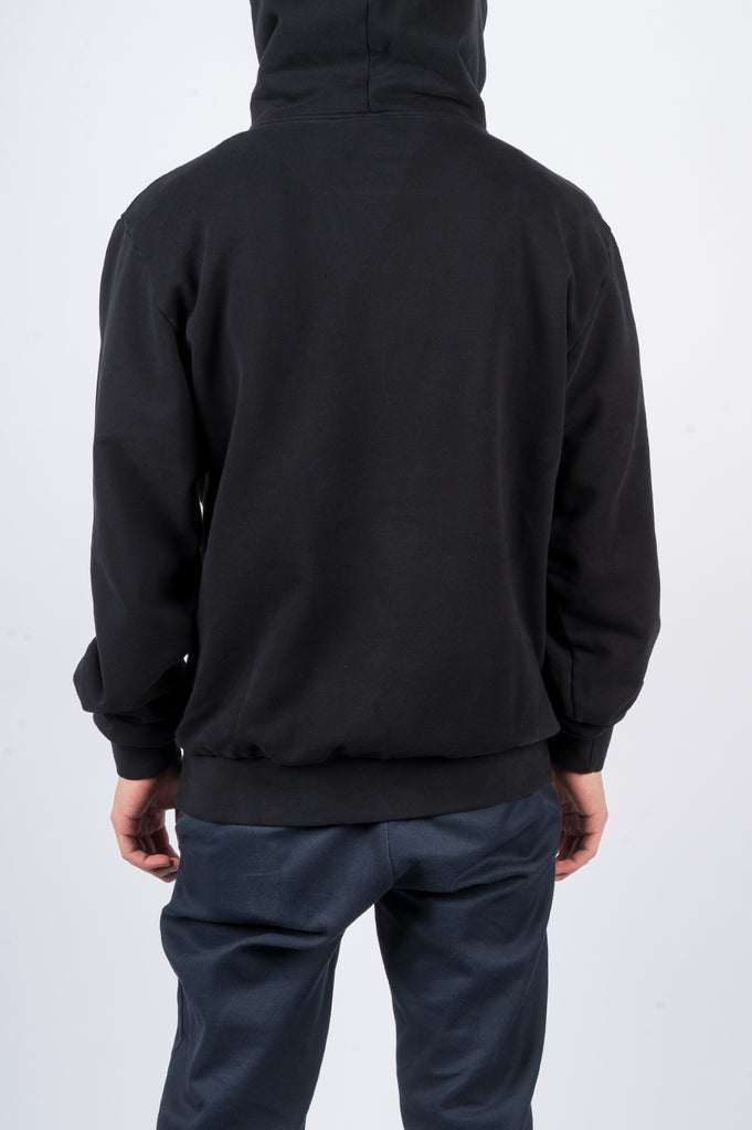 BLENDS SPIRAL LOGO HOODY BLACK - BLENDS