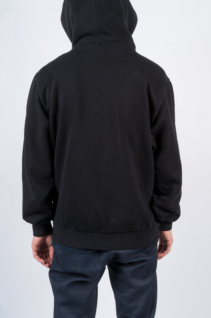 BLENDS LOGO HOODY BLACK - BLENDS