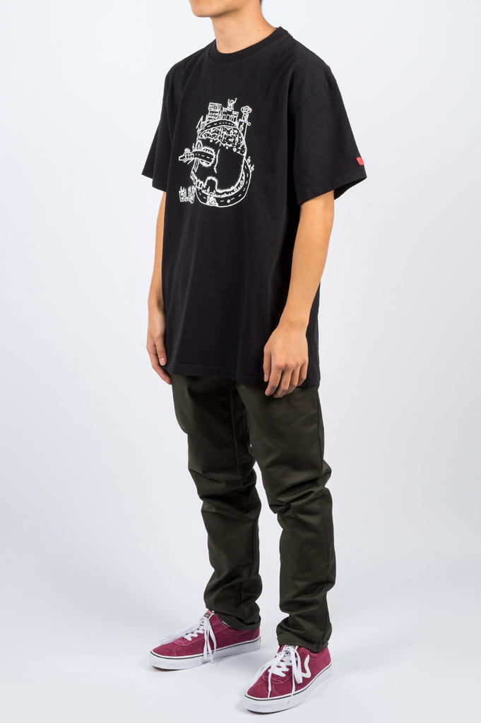 BLENDS SKULL TSHIRT BLACK - BLENDS