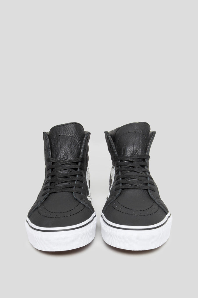 BLENDS X VANS VAULT SK8 HI REISSUE ZIP LX PEANUTS BONES BLACK - BLENDS