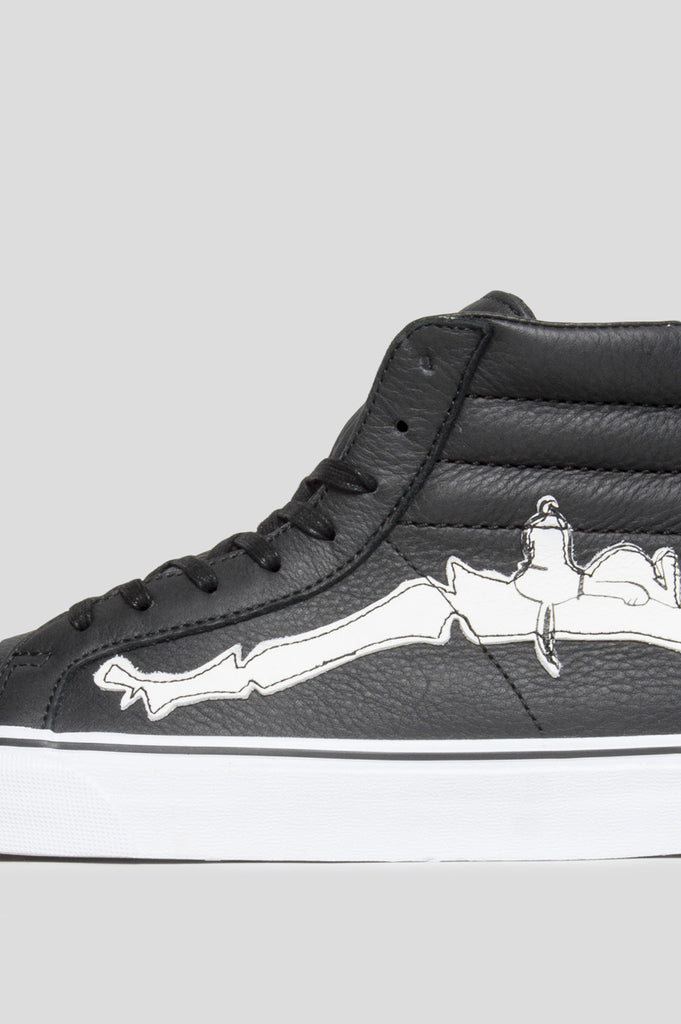 93cee1f9614e ... BLENDS X VANS VAULT SK8 HI REISSUE ZIP LX PEANUTS BONES BLACK - BLENDS