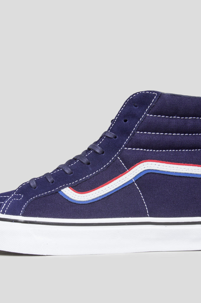 BLENDS X VANS VAULT X BORN FREE SK8 HI REISSUE LX EV BLUE