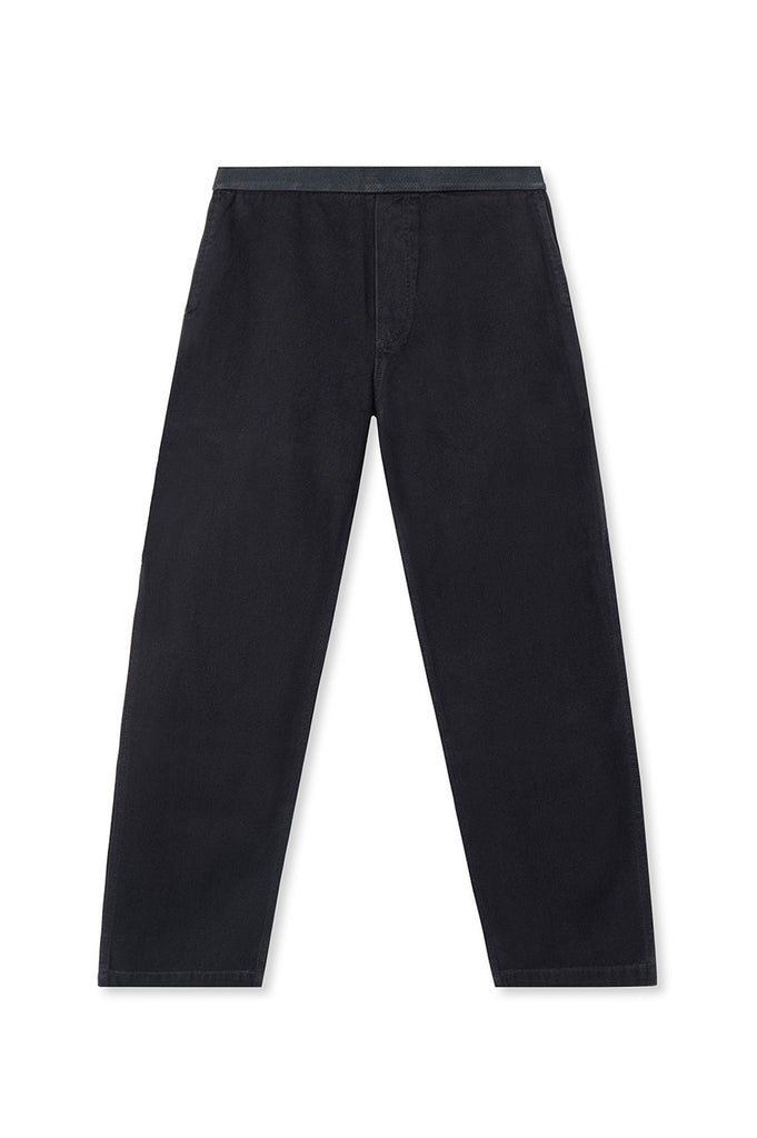 BRAIN DEAD WASHED HARD WARE / SOFT WEAR CARPENTER PANT BLACK