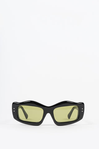 BRAIN DEAD KURATA SUNGLASSES BLACK