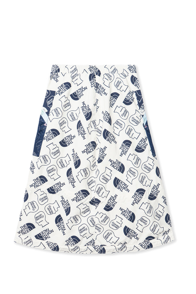 BRAIN DEAD x THE NORTH FACE TNF TECH SKIRT VINTAGE WHITE