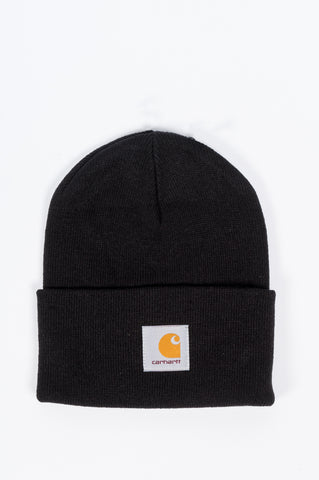 CARHARTT WIP ACRYLIC WATCH HAT BLACK - BLENDS