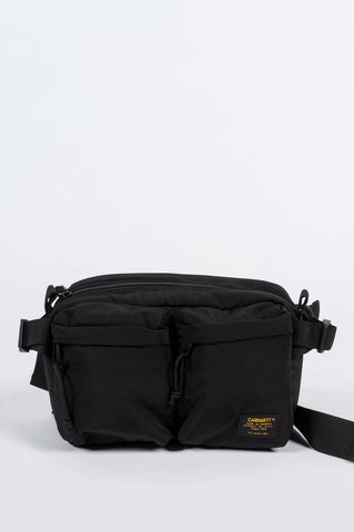 CARHARTT WIP MILITARY HIP BAG BLACK - BLENDS