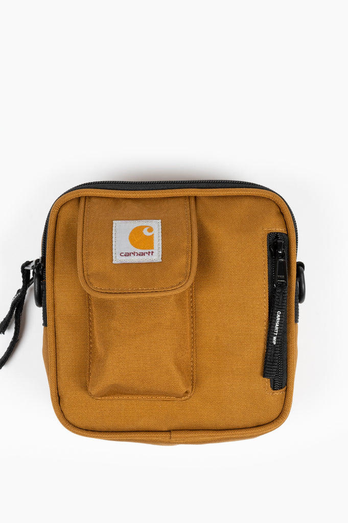 CARHARTT WIP ESSENTIAL BAG SMALL BROWN