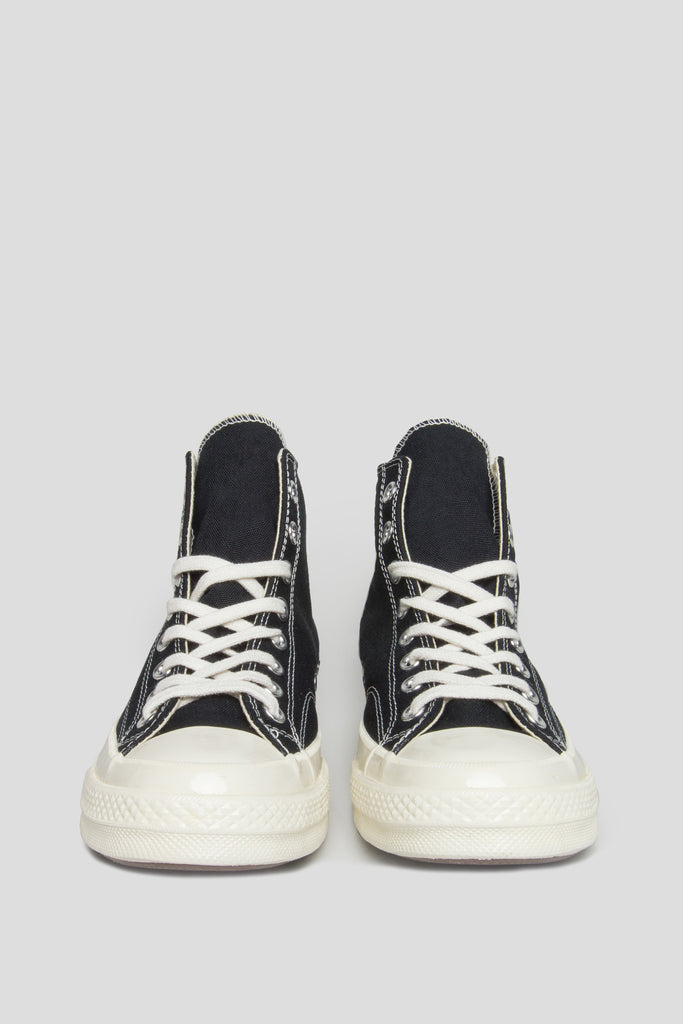 CONVERSE X COMME DES GARCONS PLAY CT 1970 HI TOP BLACK