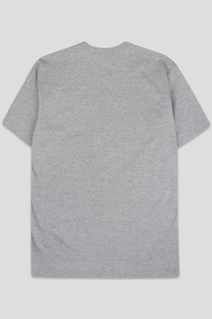 COMME DES GARCONS PLAY SS TSHIRT BLACK HEART GREY - BLENDS