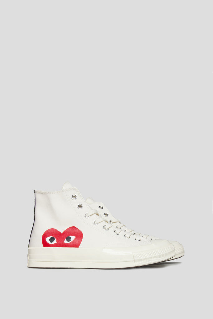 CONVERSE X COMME DES GARCONS PLAY CT 1970 HI TOP MILK