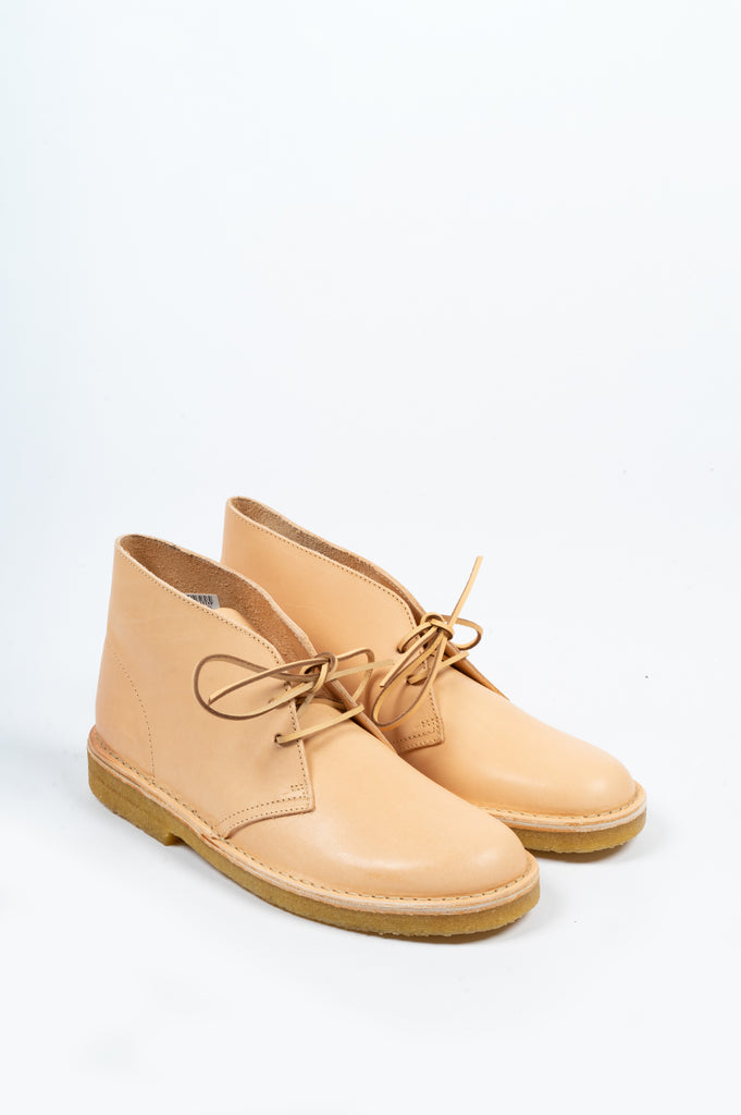 CLARKS DESERT BOOT NATURAL VEG TAN