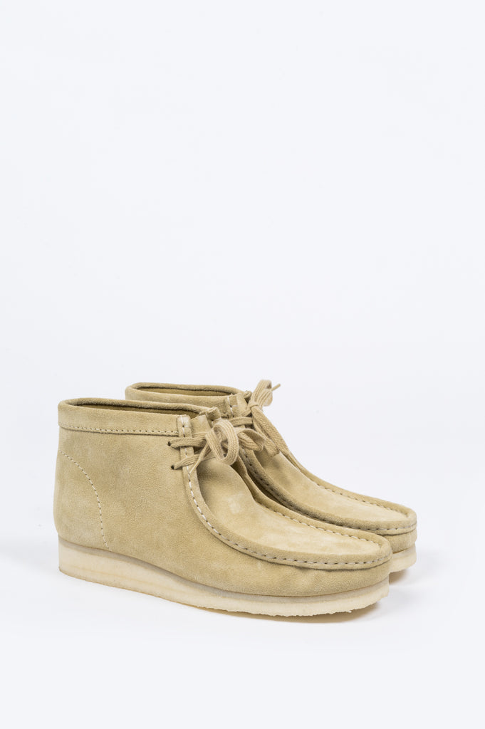 CLARKS WALLABEE BOOT MAPLE - BLENDS