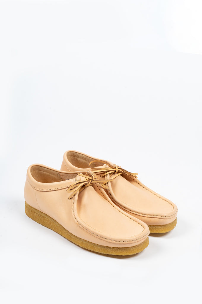 CLARKS WALLABEE NATURAL VEG TAN