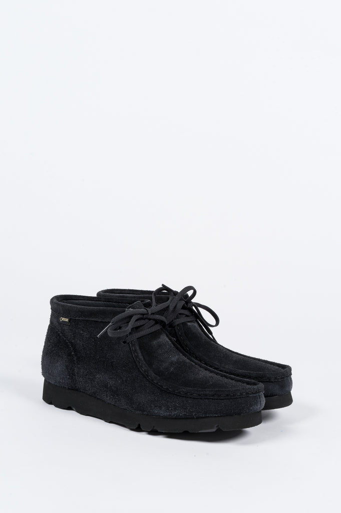 CLARKS X BEAMS WALLABEE GTX BOOT NAVY - BLENDS