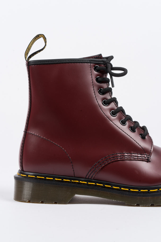 DR MARTENS 1460 SMOOTH CHERRY RED - BLENDS