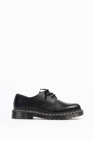 DR MARTENS 1461 WHITE STITCH OXFORD BLACK