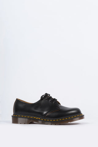 DR MARTENS VINTAGE 1461 BLACK QUILON - BLENDS