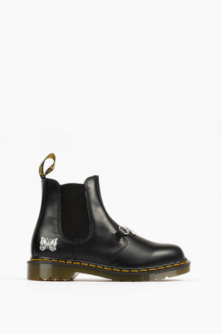 DR MARTENS 2976 SNAFFLE NEEDLES BLACK SMOOTH