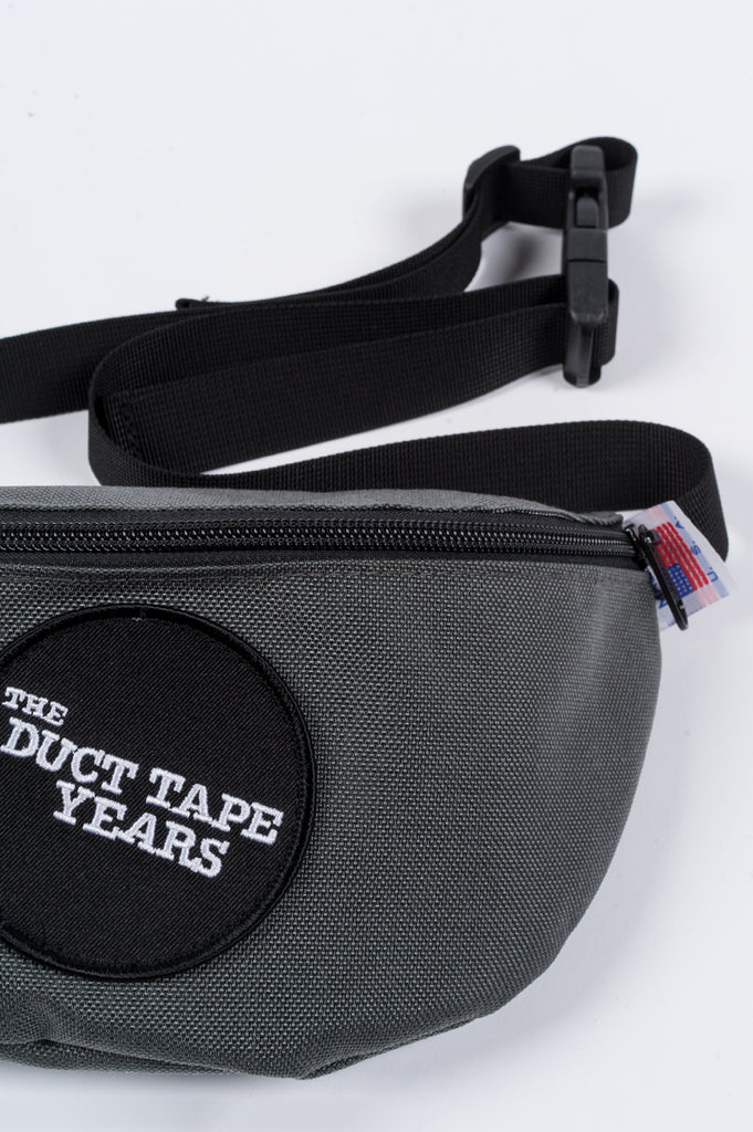 THE DUCT TAPE YEARS DOT LOGO FANNY GREY