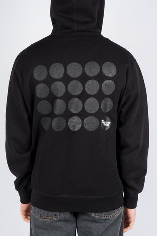 THE DUCT TAPE YEARS DOTS HOODIE BLACK
