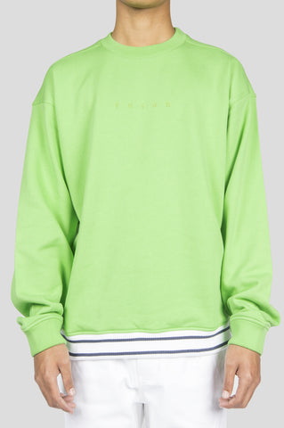 FUTUR FRONT LOGO CREWNECK GREEN - BLENDS