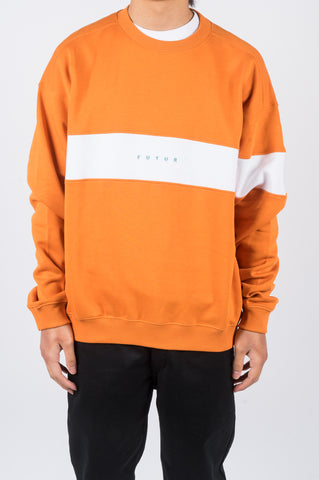 FUTUR FLAG G FIT CREW ORANGE - BLENDS