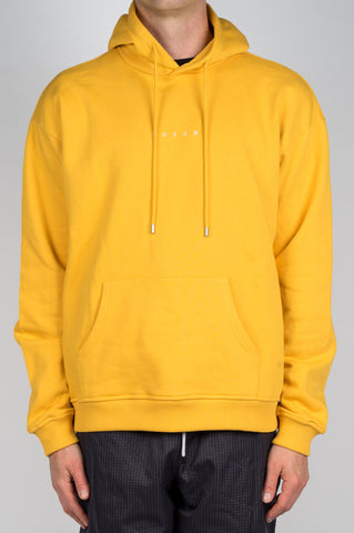 FUTUR LOGO HOODIE YELLOW - BLENDS