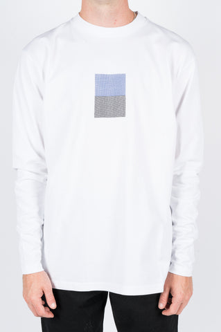 FUTUR MW G FIT CODE LS TEE WHT - BLENDS