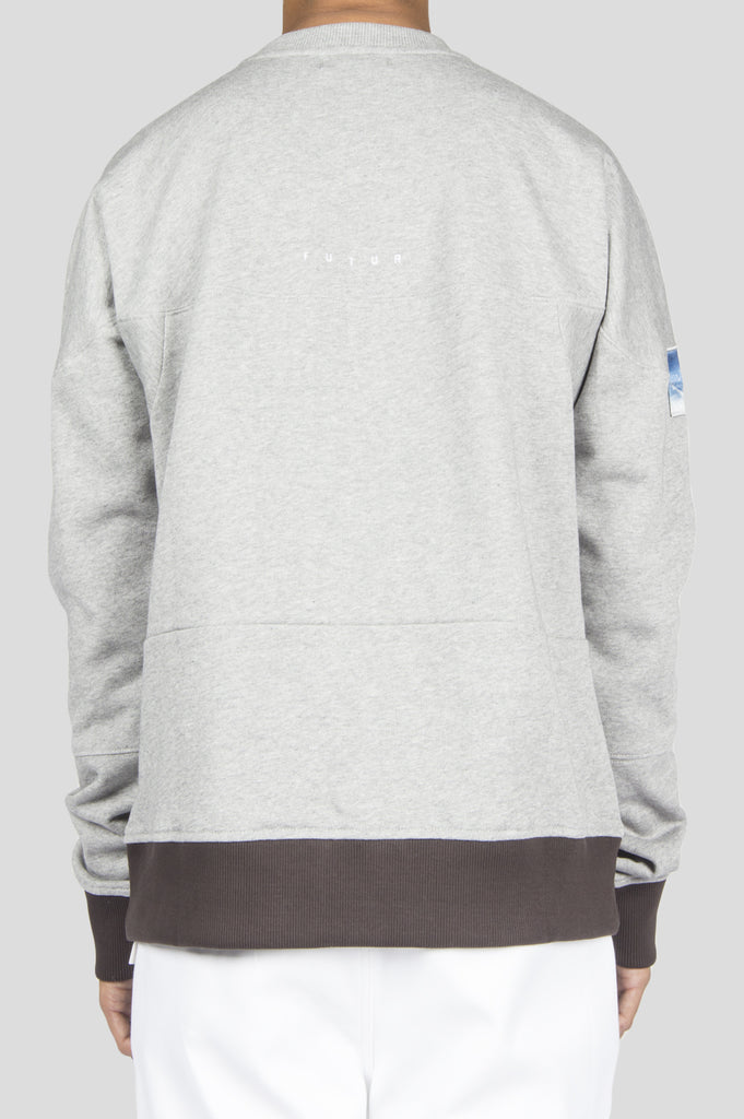 FUTUR TRE CREWNECK HEATHER GREY
