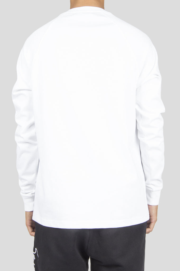 FUTUR RAGLAN HW LS TSHIRT WHITE - BLENDS