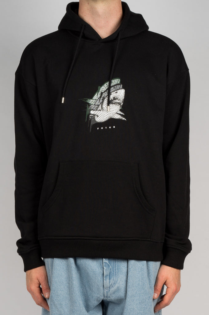FUTUR SHARK HOODIE BLACK - BLENDS