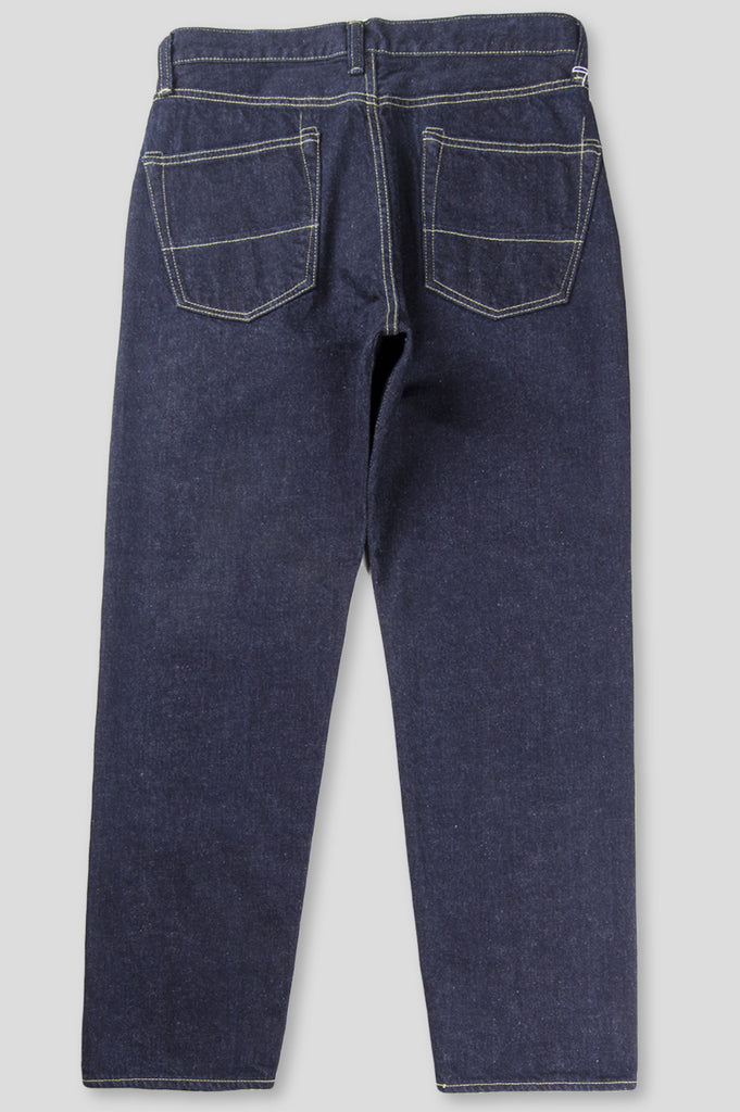 GANRYU CARROT FIT SELVEDGED DENIM PLEATED INDIGO - BLENDS