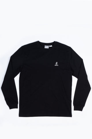 GRAMICCI BIG RUNNINGMAN L/S TEE BLACK