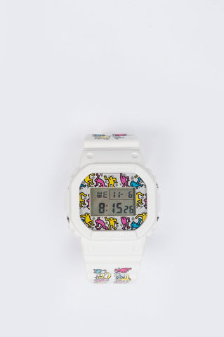 G-SHOCK x KEITH HARING DW-5600 WHITE - BLENDS