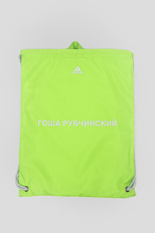 GOSHA RUBCHINSKIY X ADIDAS GYM BAG LIME