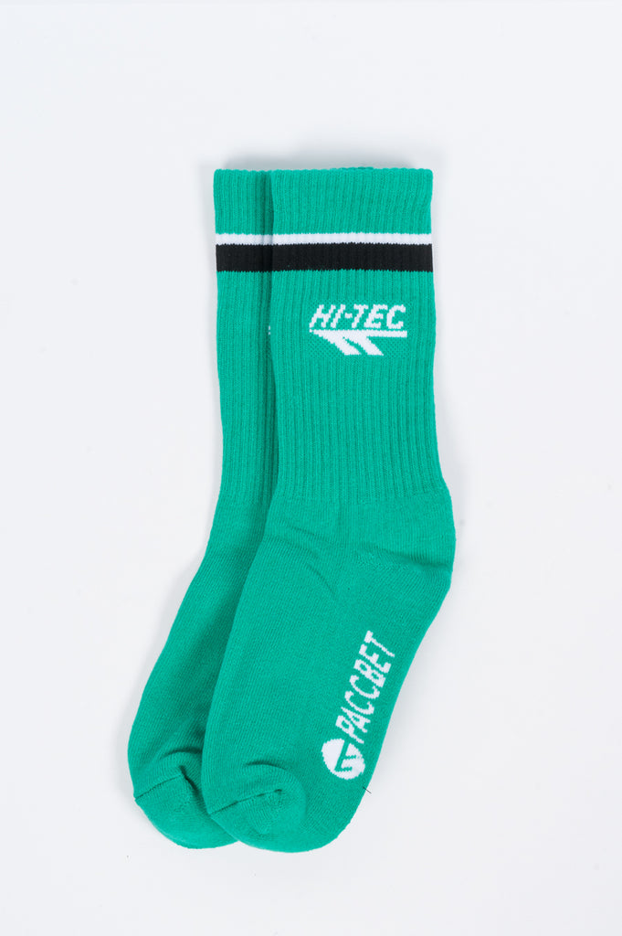RASSVET X HI-TEC WOVEN SOCKS GREEN - BLENDS
