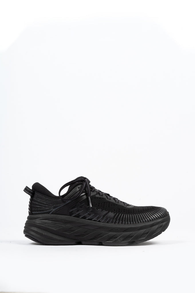 HOKA ONE ONE WOMENS BONDI 7 BLACK